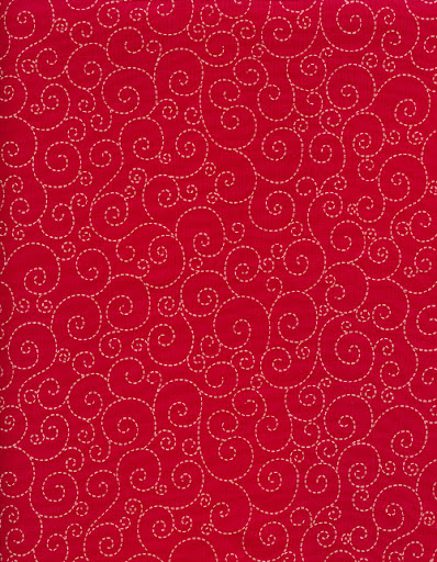 C5710 Swirls Red