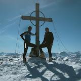 Tatsächlich war es saukalt am Gipfel