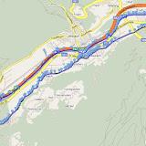 Laufstrecke: von Schwaz über Stans nach Straß bis zum Ziller