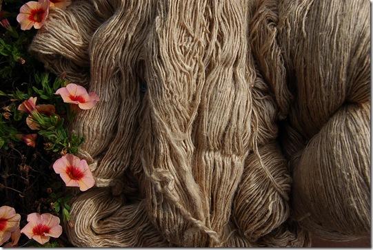 tussah silk from ebay