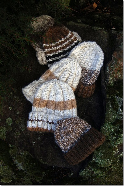 Alpaca project - Jill's hats