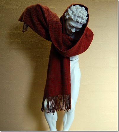 Alpaca project - Jeanette's wrap 2