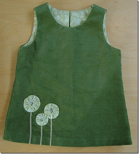 Ines' pinafore