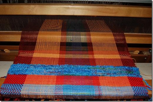 weaving novelty yarn sample 1
