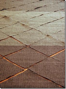 weaving cut into diagonals 3