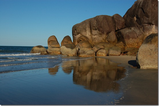boulders Ramsay Bay Hinchinbrook
