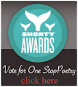 Nominate One Stop Poetry for a social media award in the Shorty Awards!