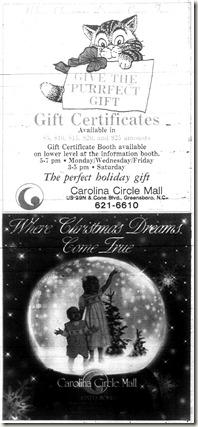 Christmas Ad December 2, 1994