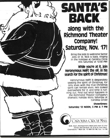 Christmas Ad November 1990