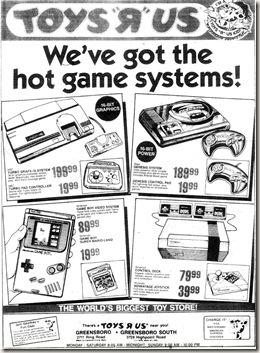 Toys 'R Us November 26, 1989