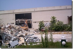 Carolina Circle Mall During Demolition 008