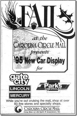 New Car Display October 16, 1994