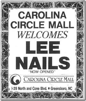 Lee Nails Grand Opening October 1994