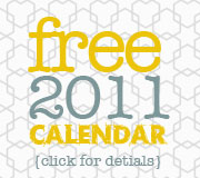 SWITCHEROOm free 2011 calendar