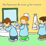 nos lavamos la cara y manos.JPG