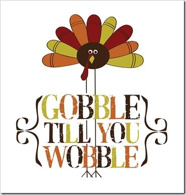gobble-wobble