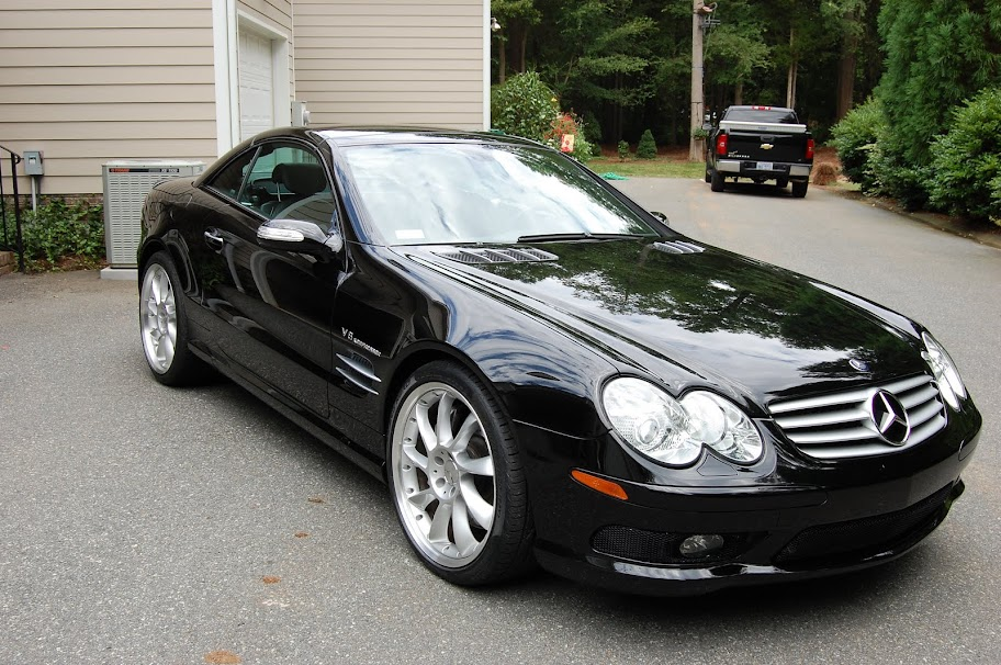2005 mercedes benz sl55 amg black black 14k miles for 2005 mercedes benz sl55 amg