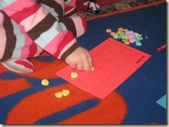 Valentine's Day graphing activity for preschool