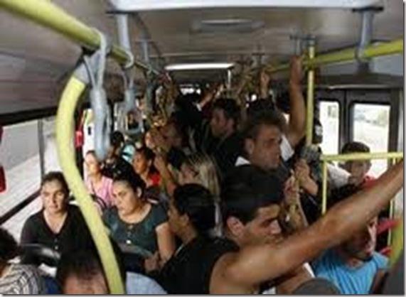 ônibus-lotado em belém