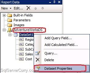 DataSet Properties