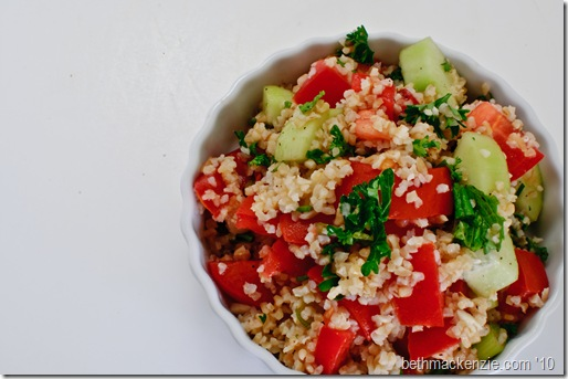 bulgur, parsley and tomato-0035