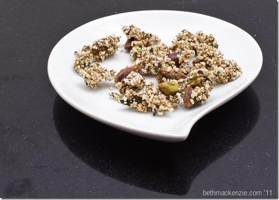 savory granola1