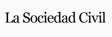 Página inicial del blog La Sociedad Civil