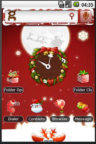 Christmas Holiday Theme