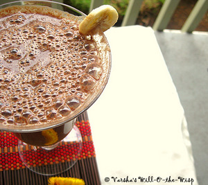 Banana-Coco-Soy Smoothie