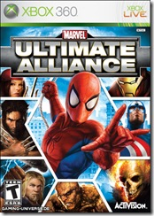 XBOX 360 MARVEL ULTIMATE ALLIANC