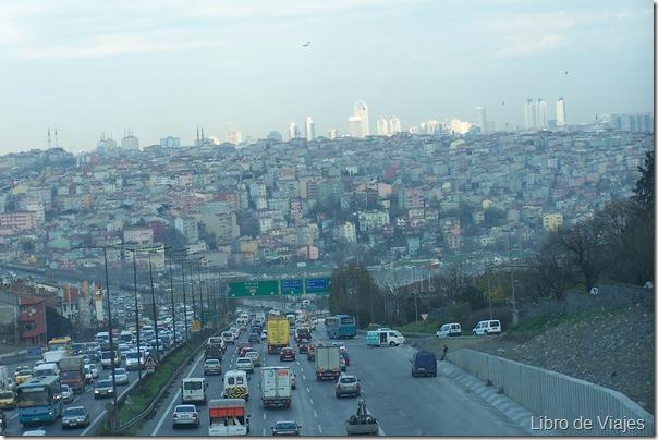 Vistas Estambul desde las afueras