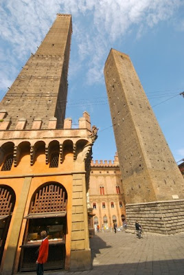 San Gimignano towers in Italy, in the Tuscany region