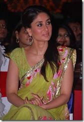 Kareena Kapoor in Green Sari