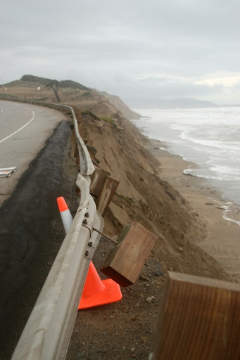 Ocean Beach erosion
