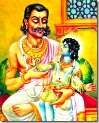 Lord Rama with His father Dashratha