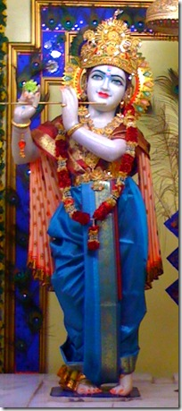 Lord Krishna has a spiritual form