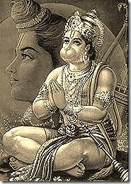 Hanuman - the perfect devotee