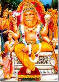Prahlada Maharaja and Narasimhadeva