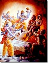 Vishnuduttas saving Ajamila