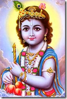 Lord Krishna is always full of bliss and knowledge