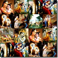Krishna and His eternal pastimes