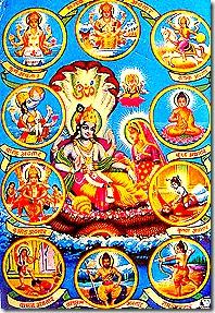 Lord Vishnu avataras