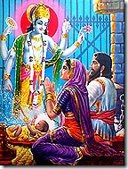 Krishna's advent