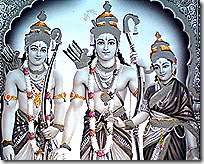 Sita, Rama, and Lakshmana