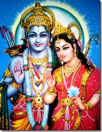 Sita Devi and Lord Rama