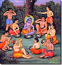 Krishna with His friends