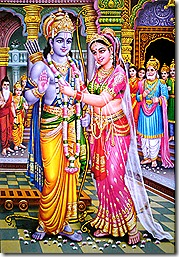 Sita and Rama marriage