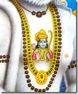 Shri Rama in Hanuman's heart