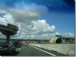 New overpass going in at Manukau.