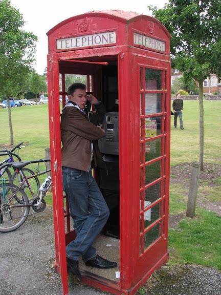 телефонная будка в англии